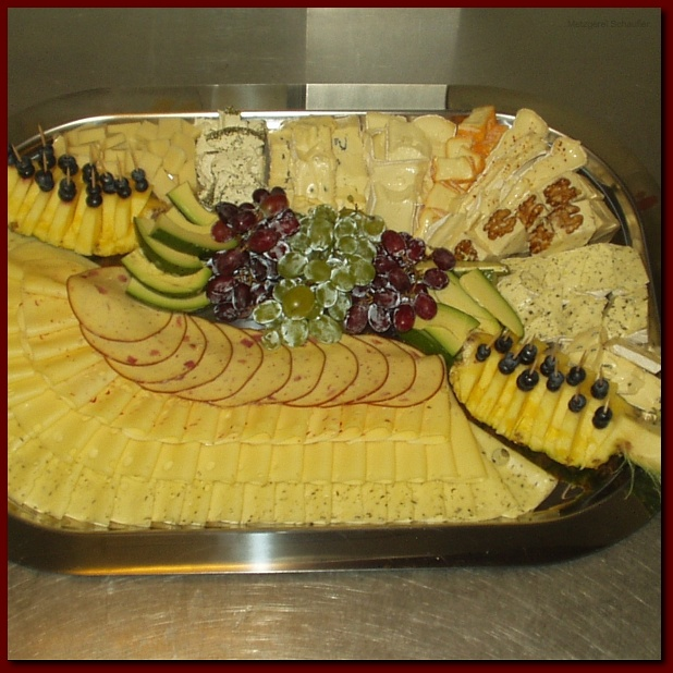 Metzgerei & Partyservice Schaufler | Kalte Platten
